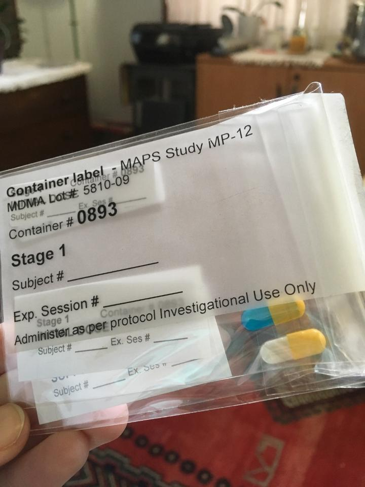 MDMA capsules like these will be administered in the upcomingPhase 3 trials