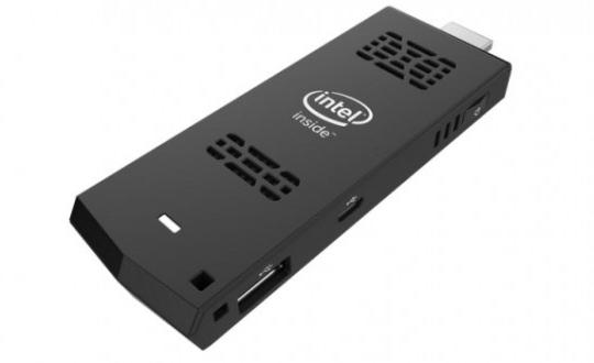 The Intel Compute Stick offers Windows 8.1 or Ubuntu on a small dongle