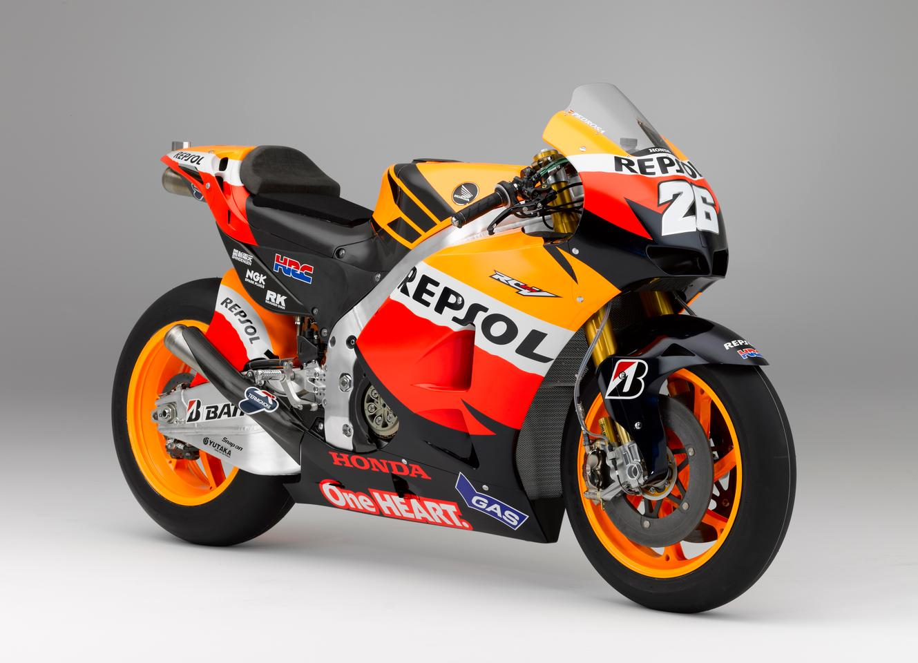 Honda launches new Moto GP bike for 2012