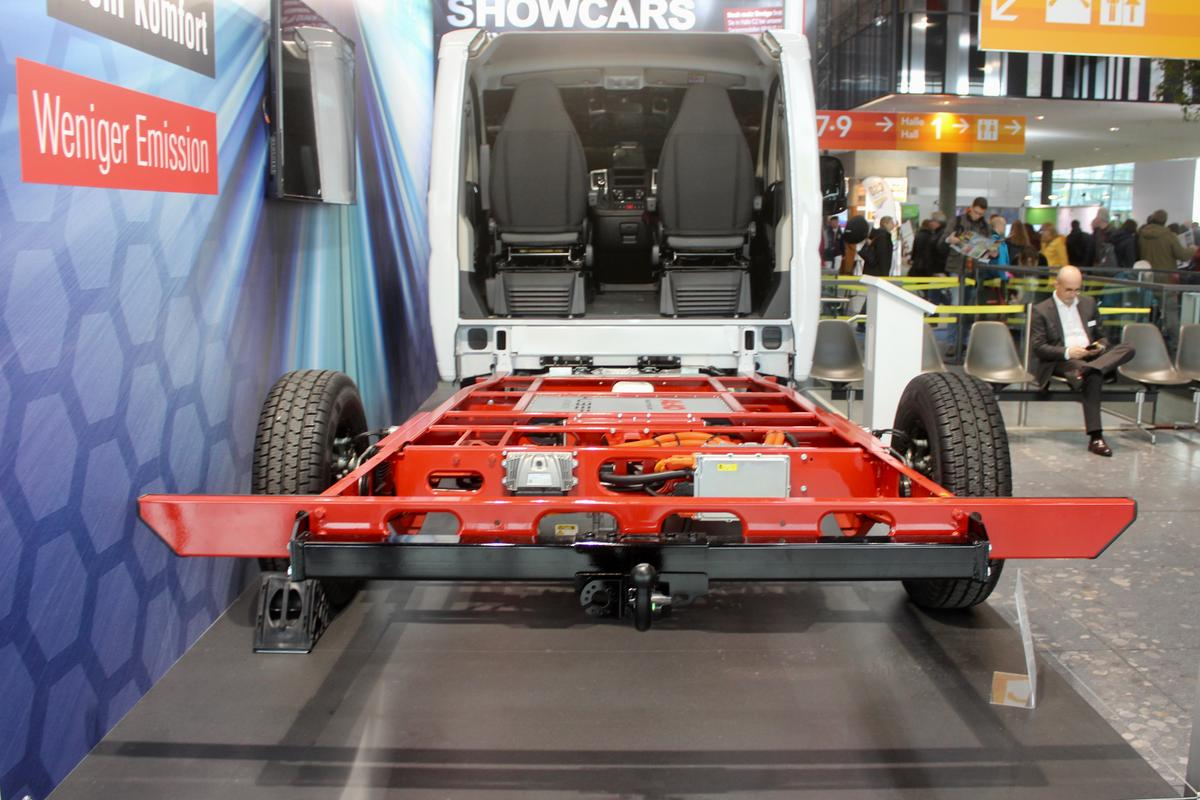 AL-KO addresses the motorhome segment of the market with its Hybrid Power Chassis