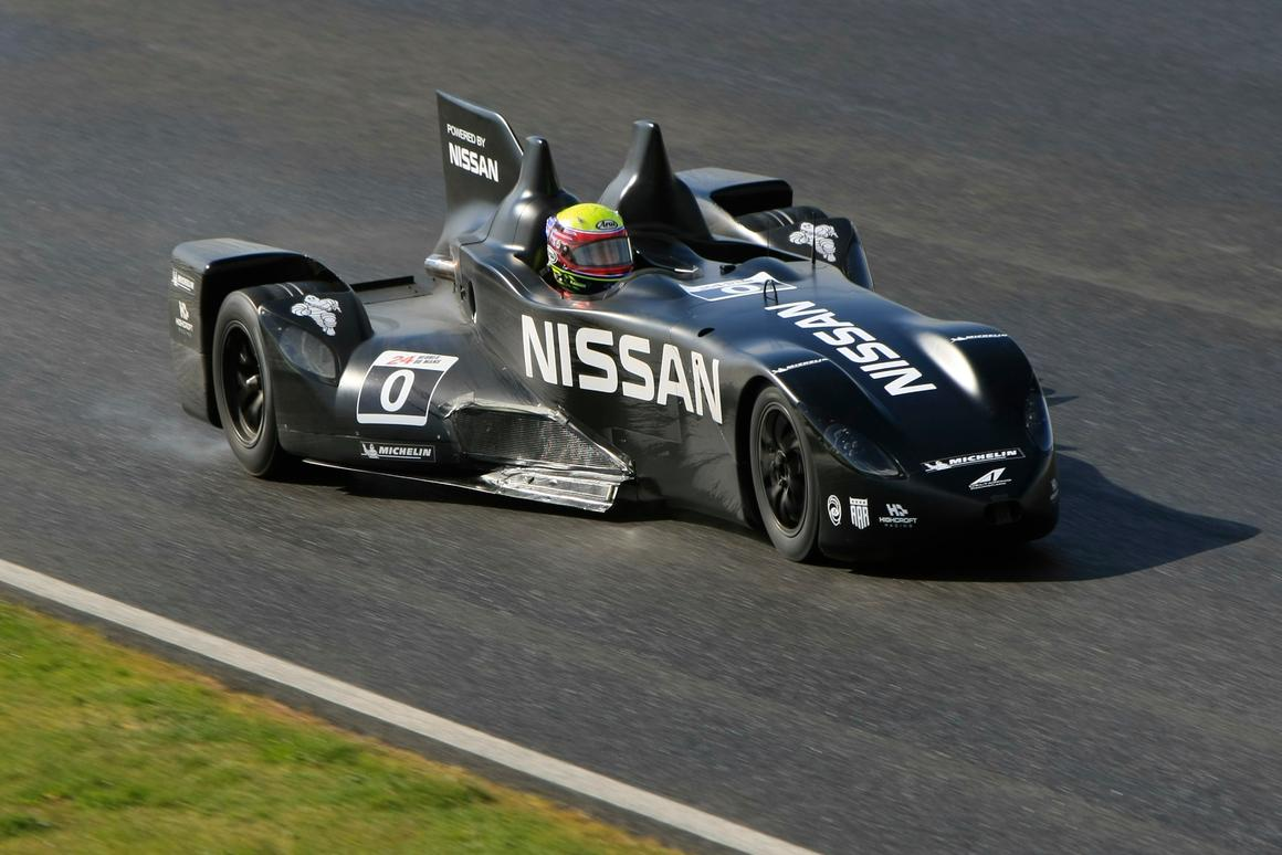 The DeltaWing Project - half the power, half the weight, twice the aerodynamic efficiency