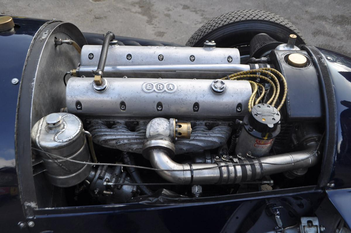 The recently-rebuilt ERA engine in the car makes it competitive