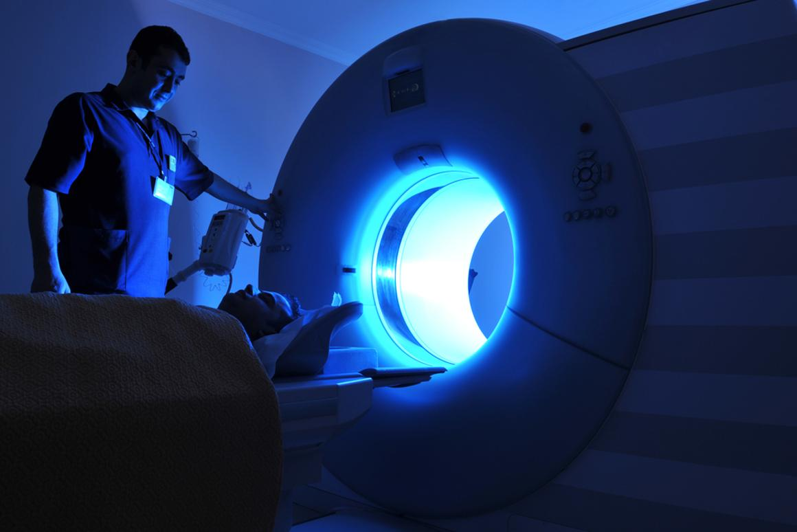An MRI aboard the ISS would be smaller and lighter than its Earth-bound counterparts like this one (Photo: Levent Konuk/Shutterstock)