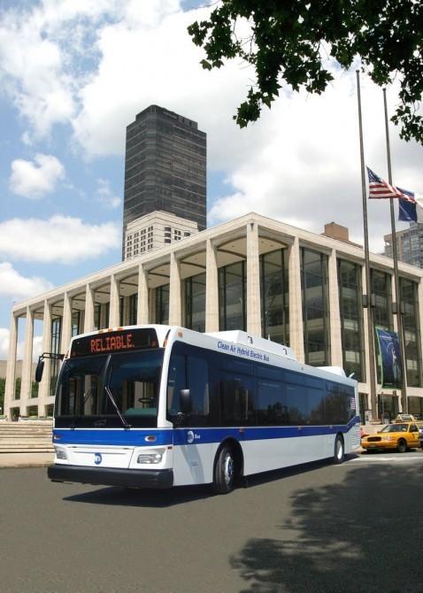 Orion diesel-electric hybrid bus