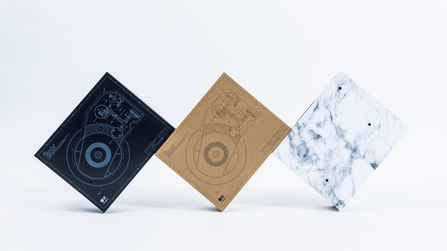 DJ gets crowdfunders in a spin with cardboard-housed DIY