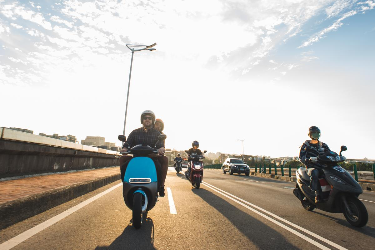 Gogoro will launch a new scooter-sharing service in Taiwan next month
