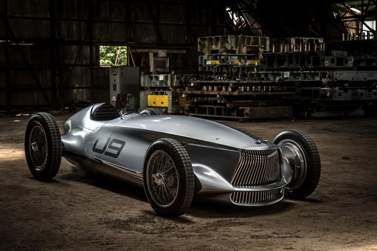 The Infiniti Prototype 9, launched at Pebble Beach