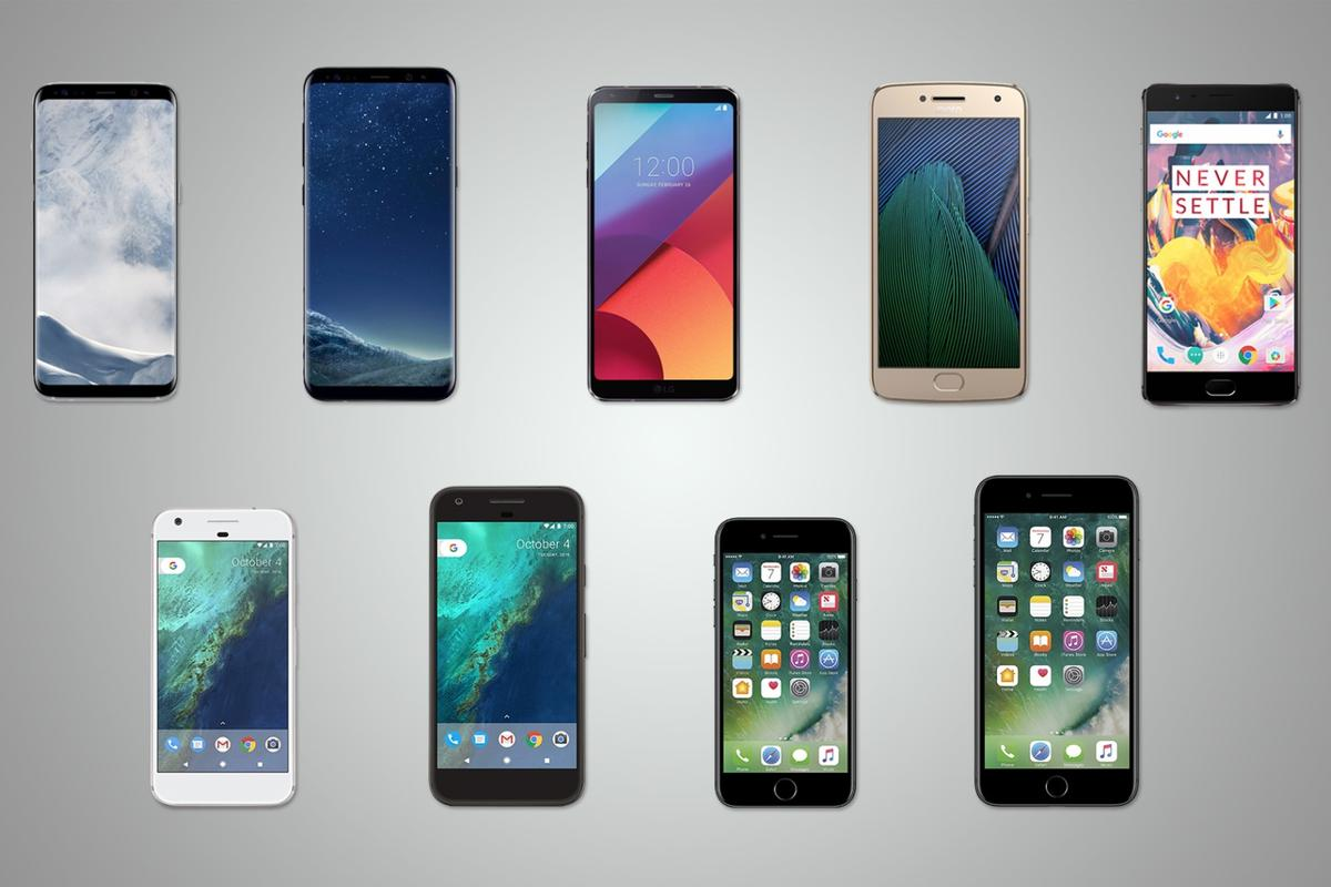 Now that many early-2017 flagships have hit the market, here's a comprehensive comparison of the leading smartphones recently released and available now