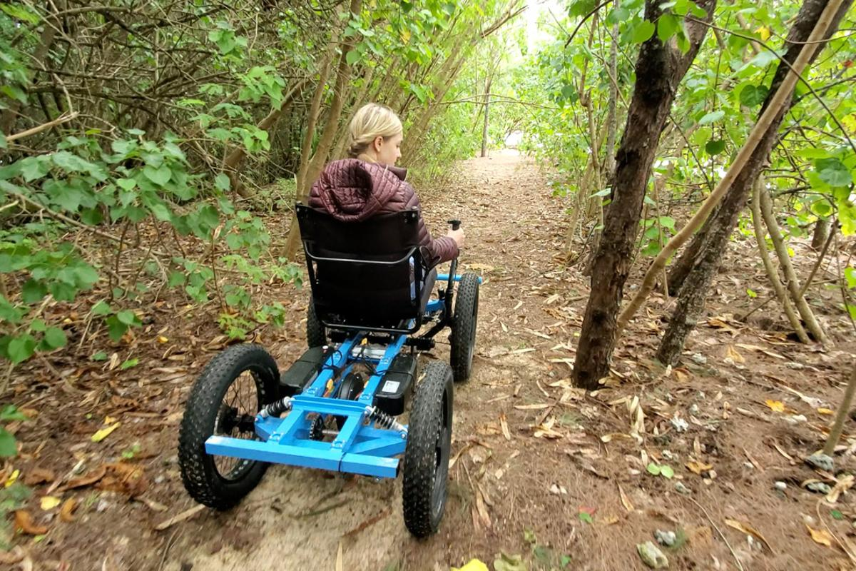"Its makers describe The Rig as being ""Not a Wheelchair"""