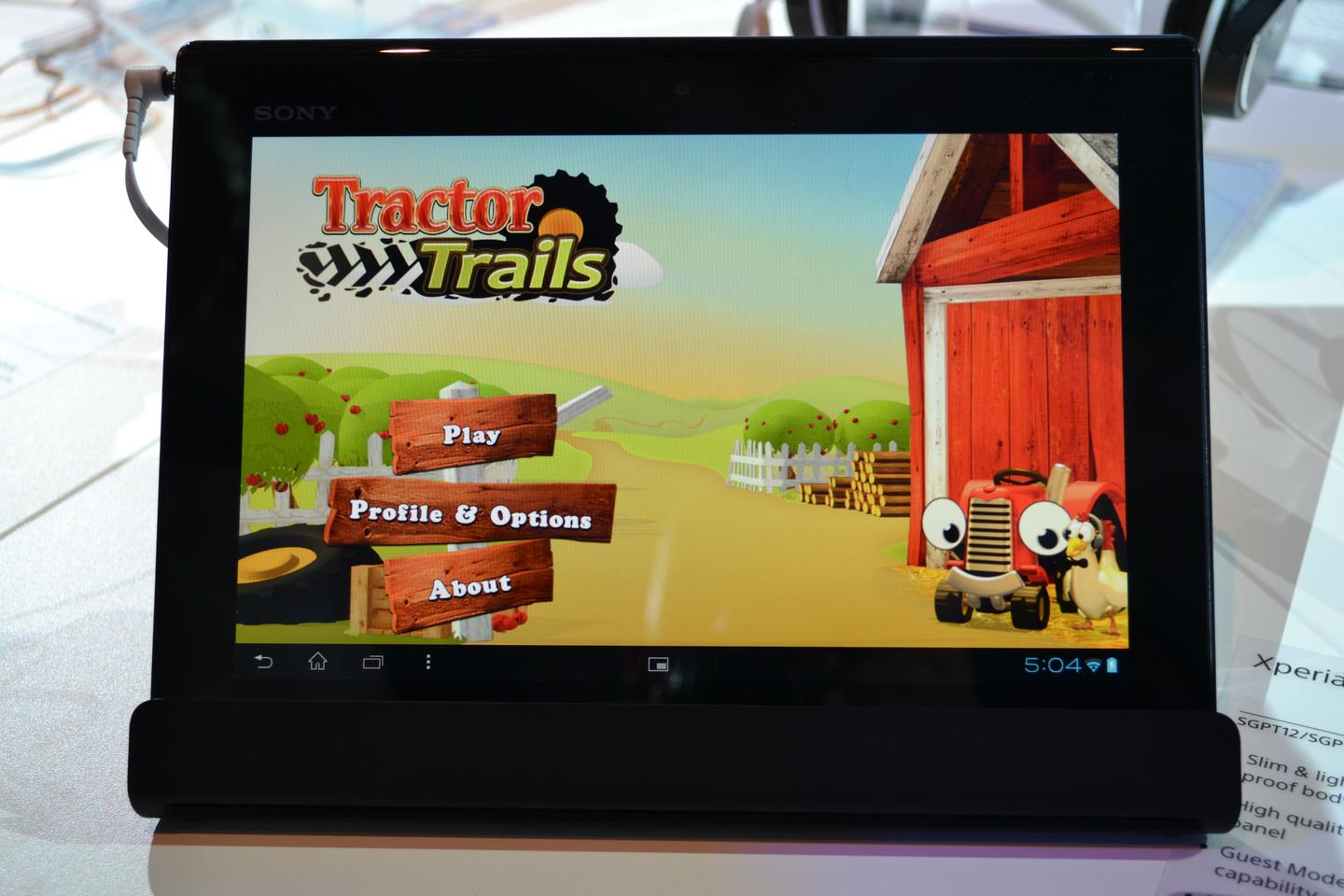 Sony's Xperia Tablet S unveiled at IFA 2012 is the first non-smartphone to join the Xperia stable