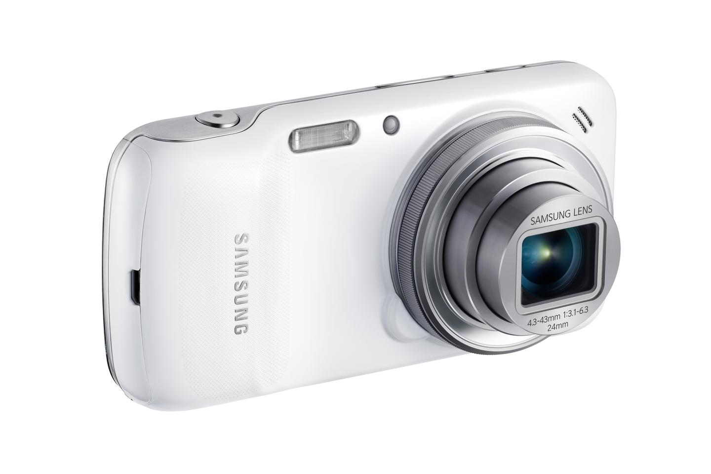 Samsung's Galaxy S4 zoom cameraphone