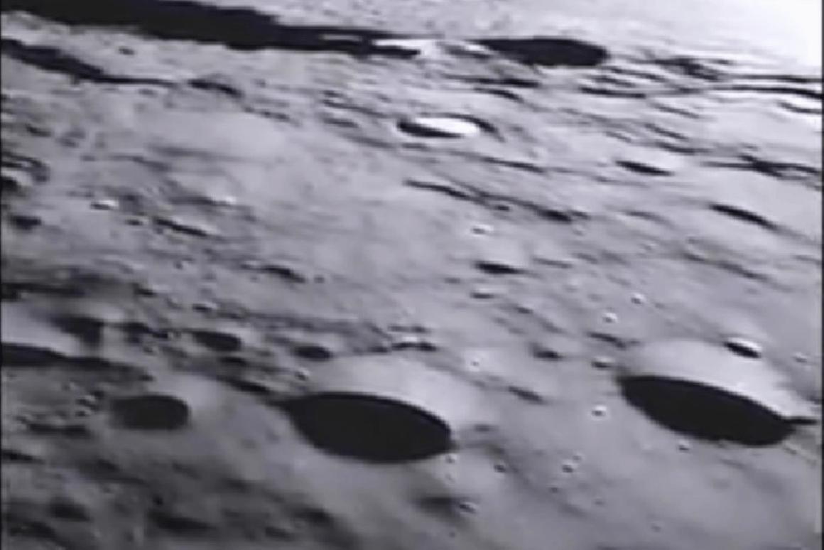 Still from the JPL GRAIL video (Image: NASA/JPL-Caltech)