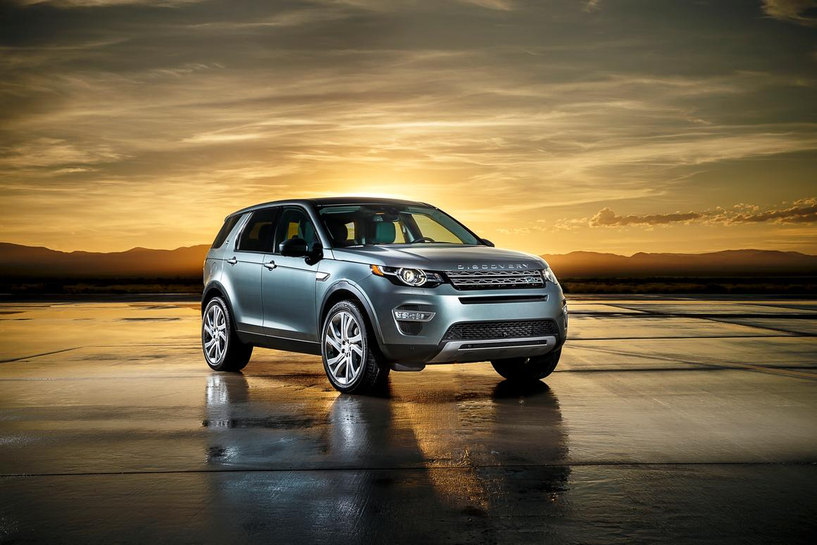 The Discovery Sport joins Land Rover's Discovery family
