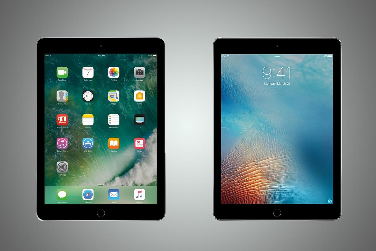 New Atlas compares the features and specs of the new iPad (2017) and iPad Pro 9.7