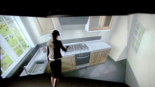 CAVE (Computer Aided Virtual Environment) creates a new method of product development at Miele in Gütersloh. The innovative projection technology lets products appear in a virtual environment. Developers can immediately try out proposals and ideas. Thus t