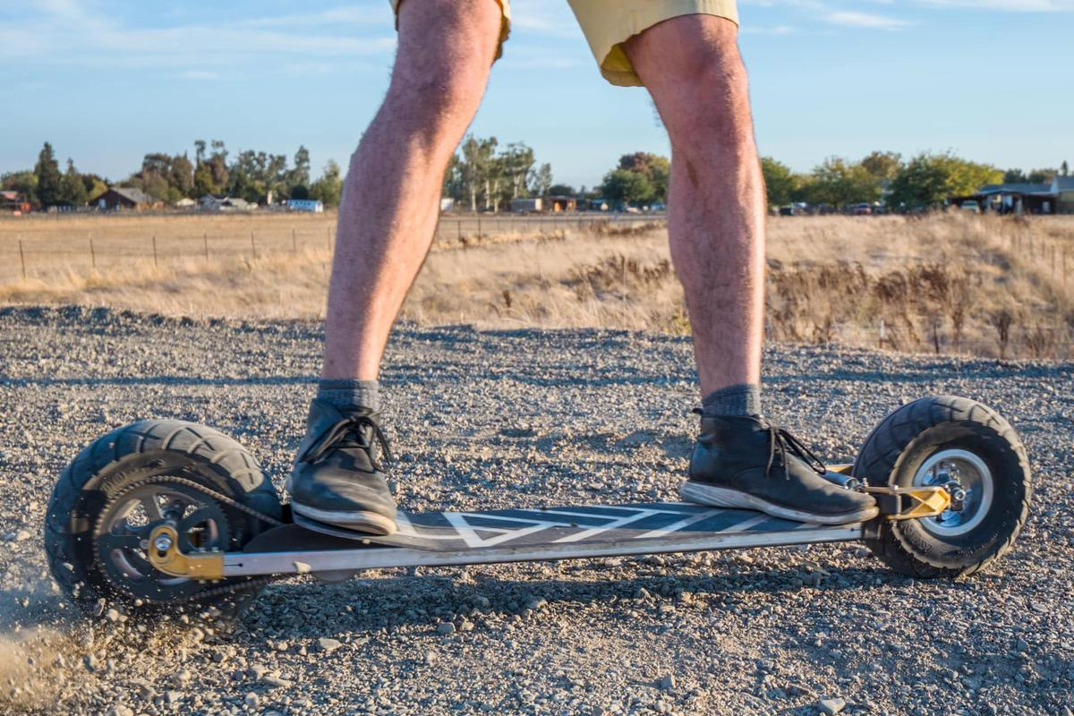 The Speedboard isn't limited to use on asphalt