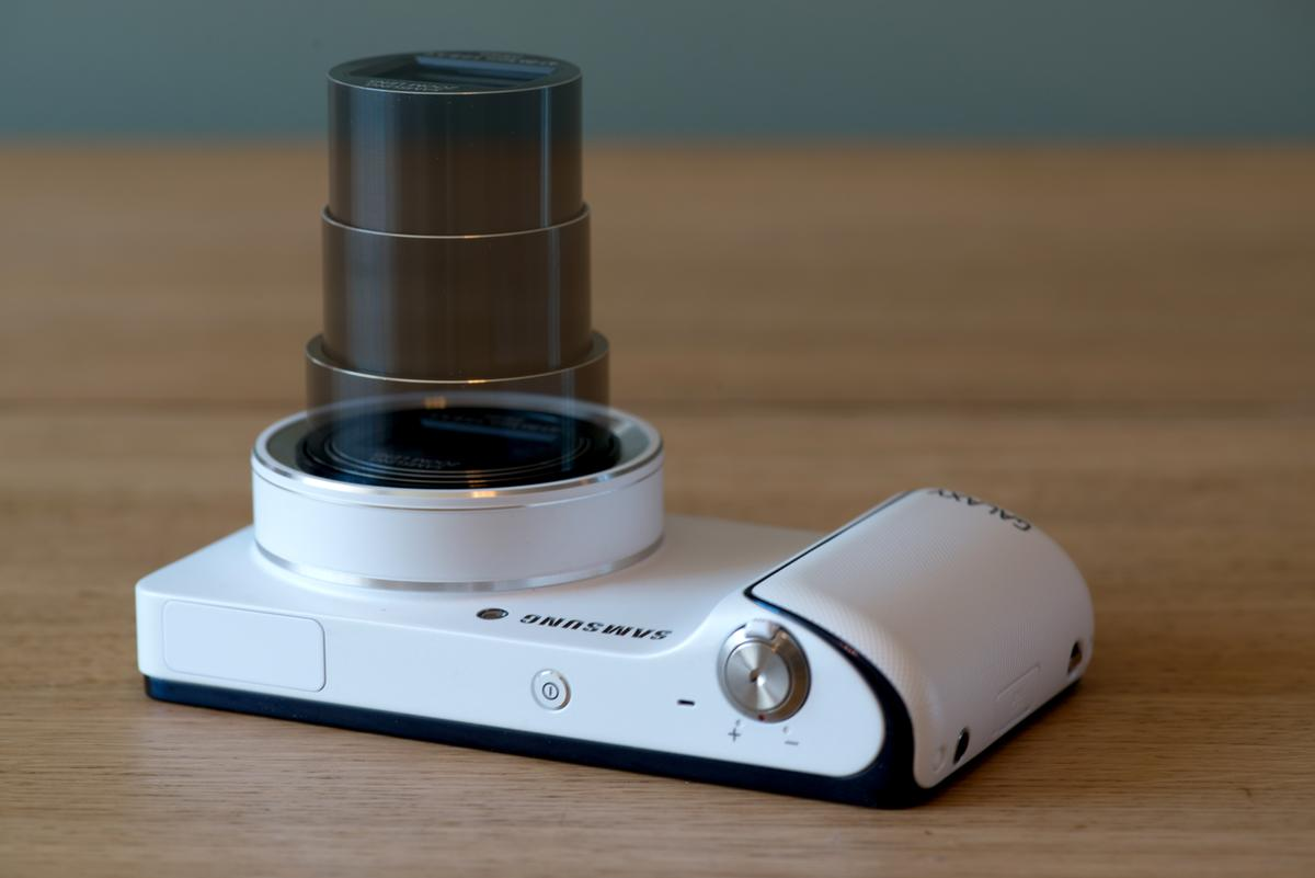 The optical zoom lens on the Samsung Galaxy Camera is a fantastic addition for mobile photography fans