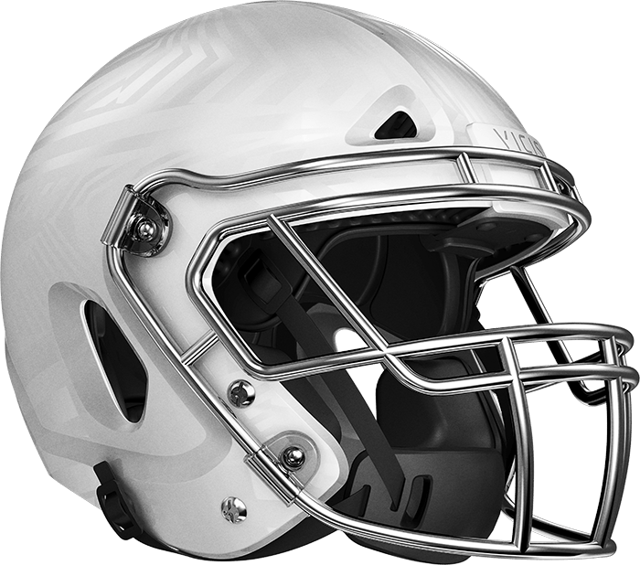 The Zero1 helmet with a more aerodynamic face mask