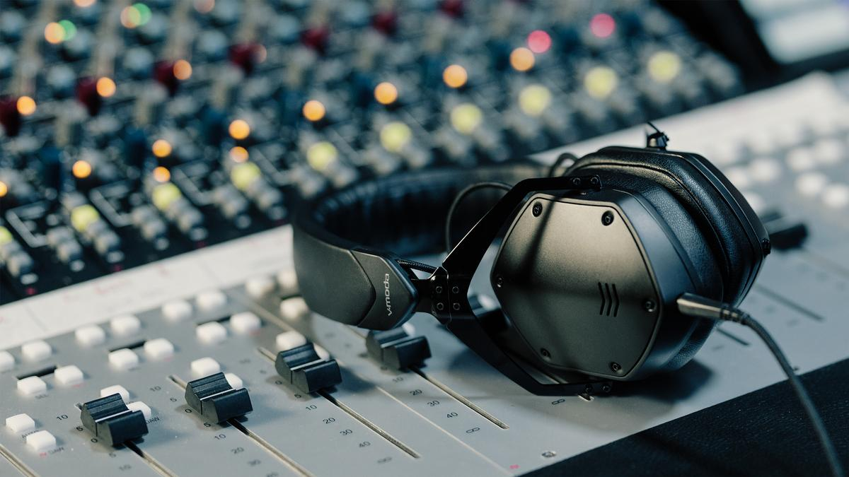 V-Moda heads to the recording studio with the M-200 reference-grade headphones
