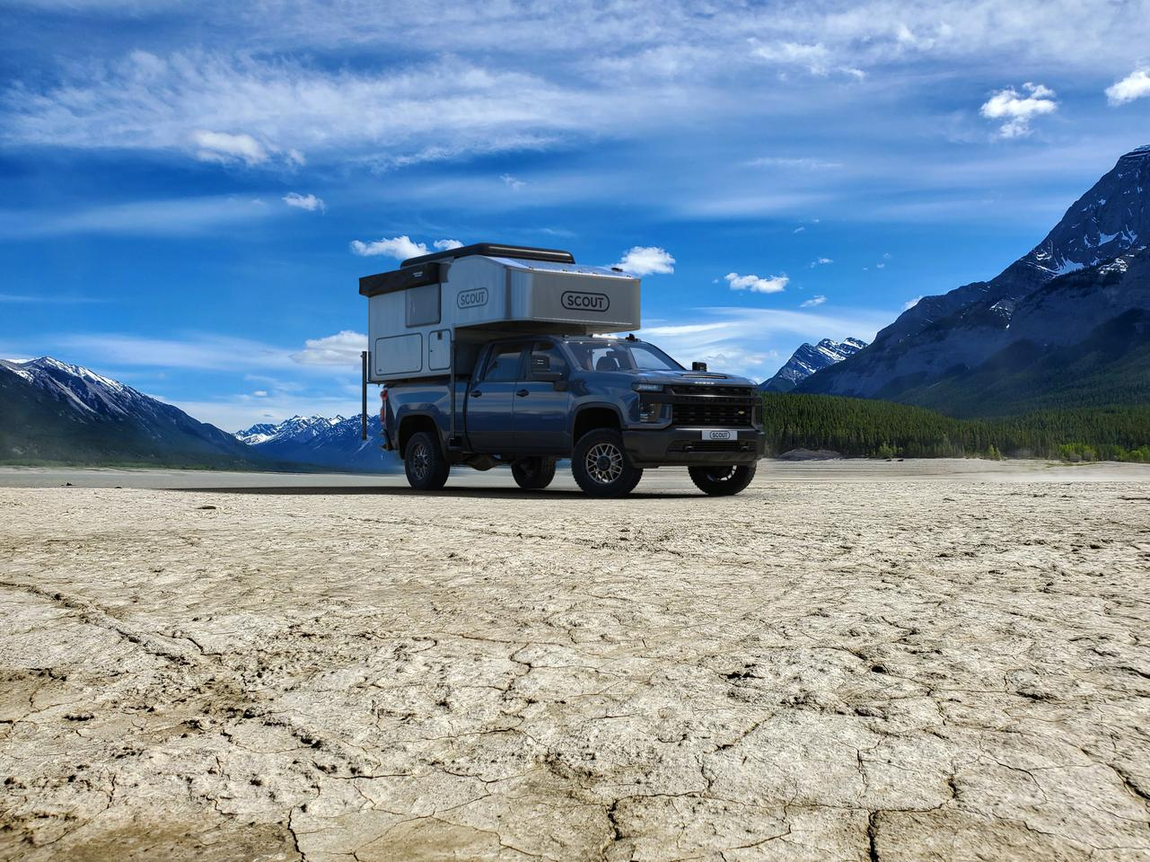 With a base weight of 1,370 lb before options, the new Scout Kenai will fit nicely on a variety of trucks
