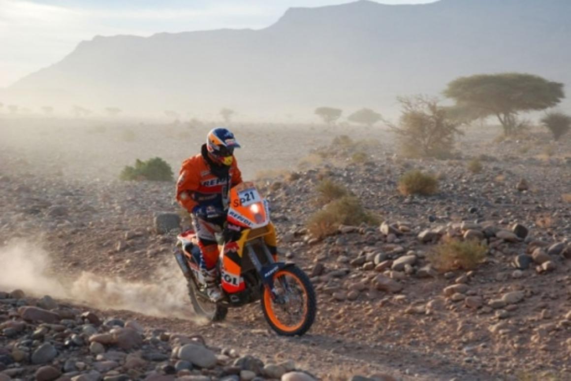 Jordi Viladoms in the 2007 DakarPhotographer: Van Oers J.