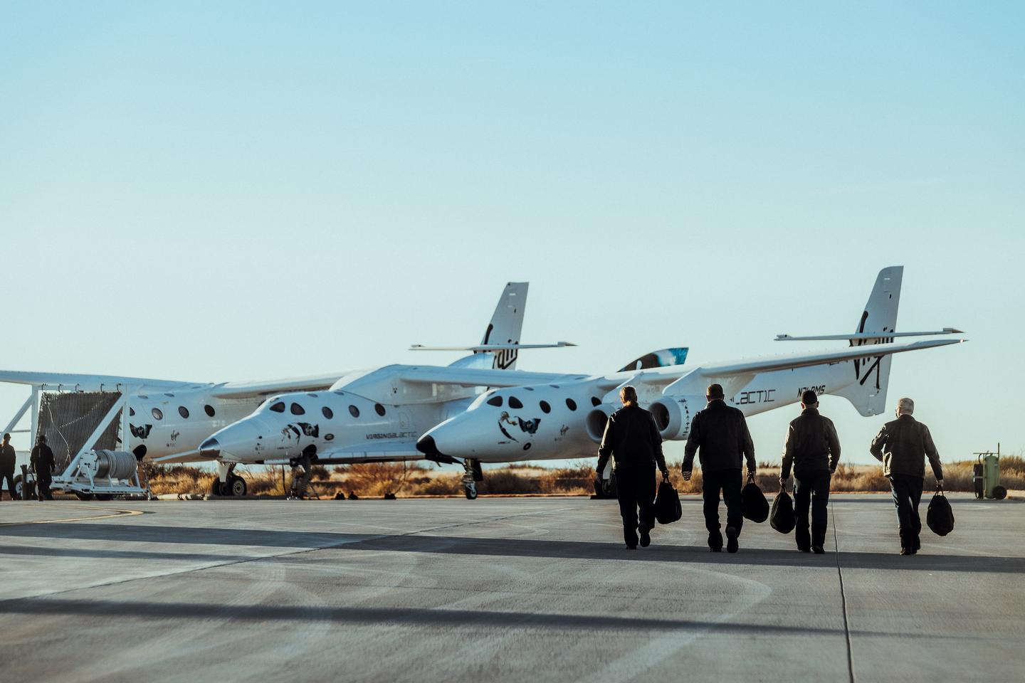 Virgin Galactic is preparing its VMS Eve and SpaceShipTwo for another attempt to reach space
