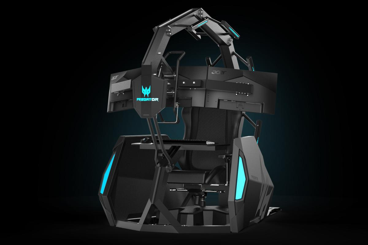 The Predator Thronos Air, successor to last year's Predator Thronos, is described as the ultimate gamer's cave