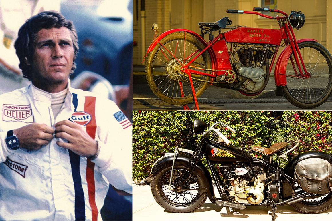 If any living creature really has had something resembling the legendary Midas touch which Dionysus bestowed on the King of Phrygia (enabling him to turn whatever he touched into gold), then it's Terrence Stephen McQueen. McQueen's star quality means that the many cars and motorcycles he collected generally fetch far in excess of their book value when they reach auction.