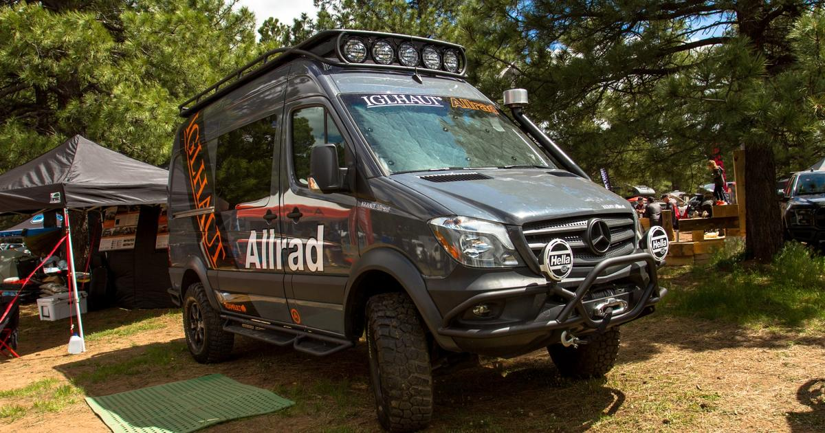 Big, burly and often beautiful: Camper vans and adventure Sprinters of Overland Expo West 2019
