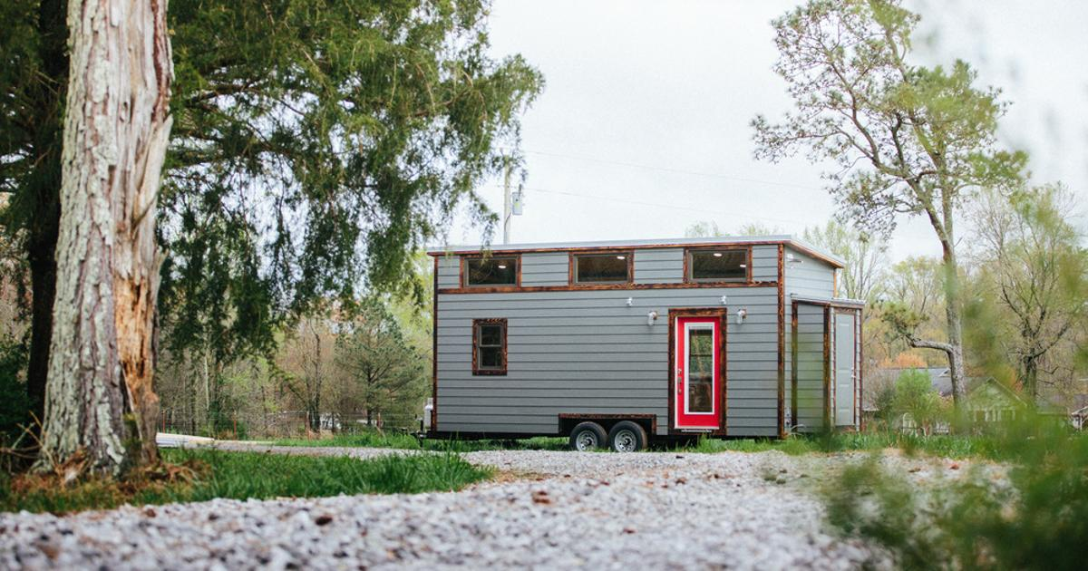 Solar-powered tiny house doesn't skimp on the home comforts
