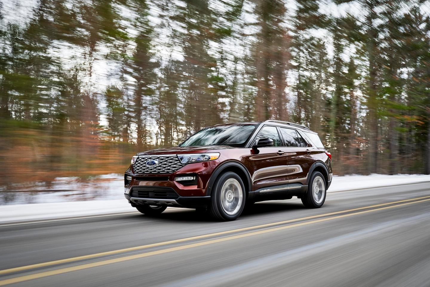 """""""Explorer drivers told us what they want –more capability, more power, more space,"""" said Hau Thai-Tang, Ford's head of product development and purchasing"""