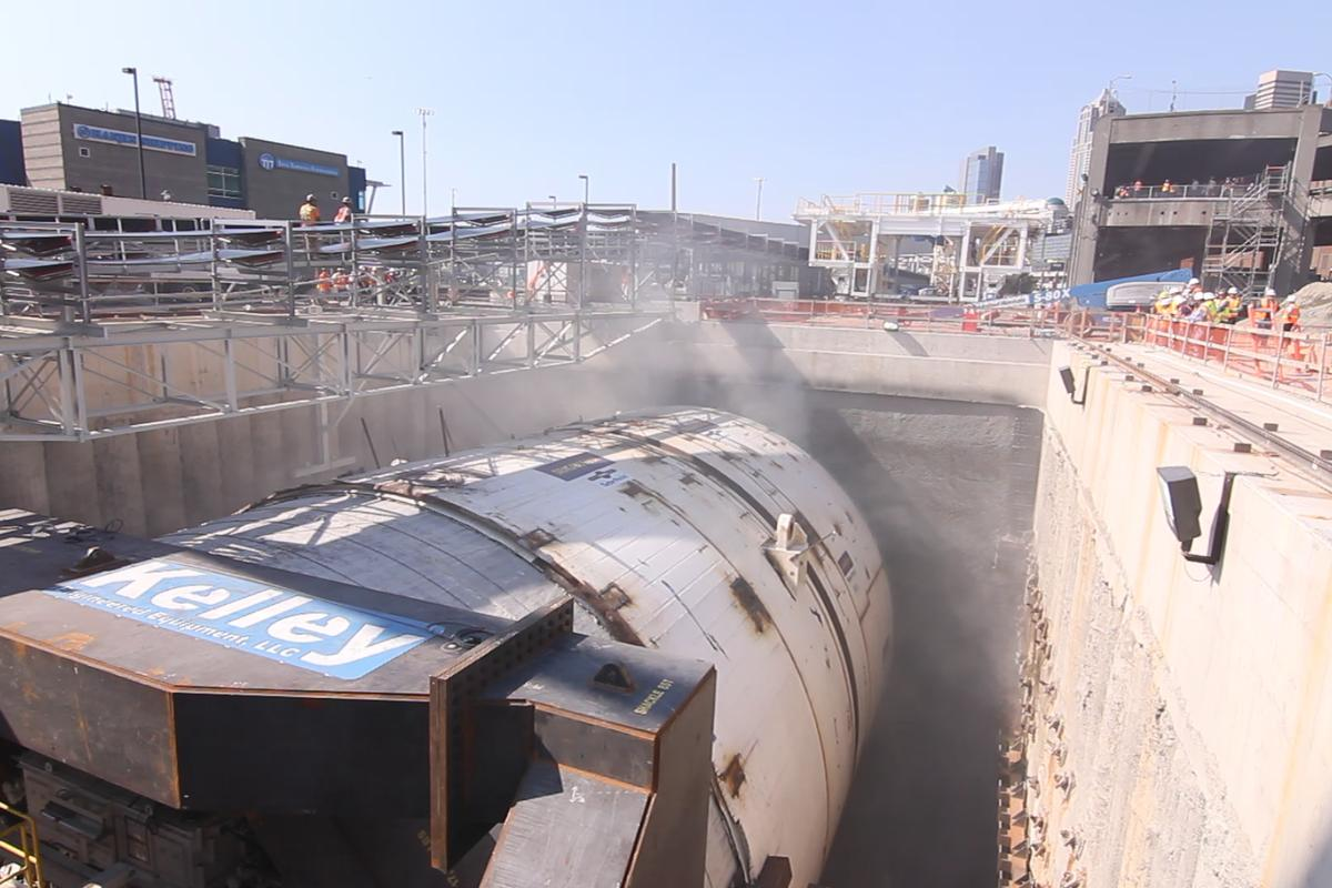 The world's largest tunnel boring machine is being put to work in Seattle