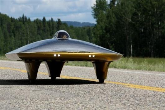 Xof1 World distance record solar car