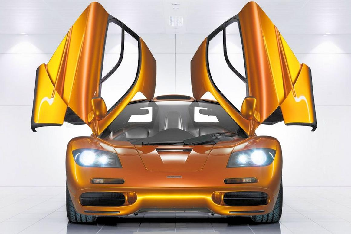 Will the F1 be among the last of McLaren's cars to have windshield wipers? (Photo: McLaren)