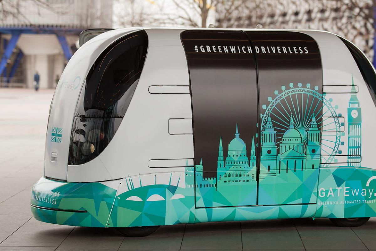 The trial will let members of the public behind the wheel of driverless pods