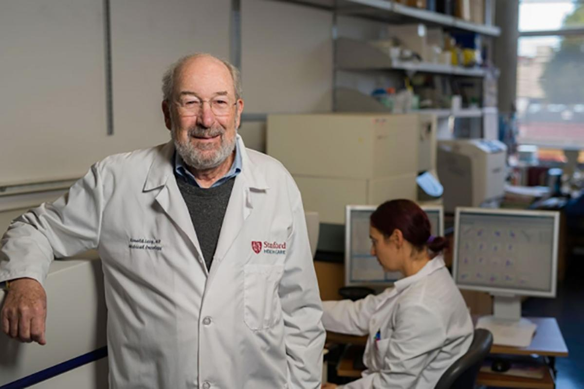 Led by professor of oncology Ron Levy, a team at Stanford has come up with a promising new cancer treatment