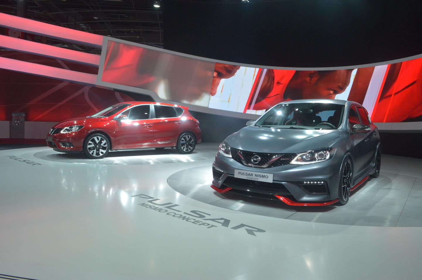 The Nissan Pulsar Nismo concept is a more aggressive Pulsar hatchback (Photo: C.C. Weiss/Gizmag)