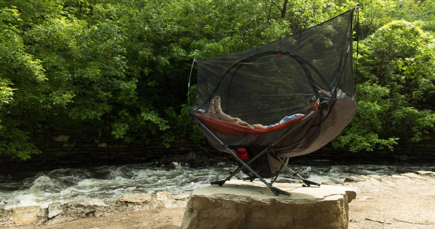 Worried about mosquitoes, horseflies or the like? Get the mosquito net