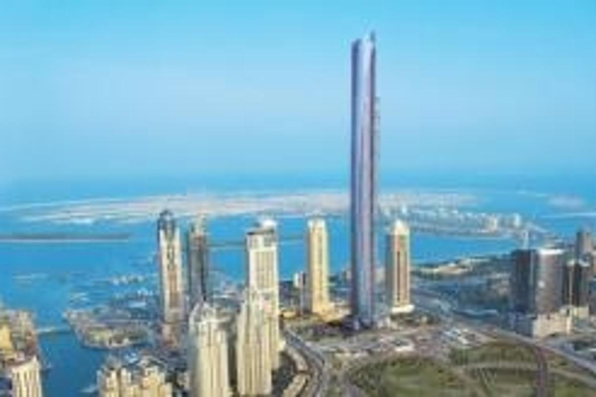 Dubai's ultra-exclusive Pentominium is set to be the world's tallest residential building, at a height of 516 metres.