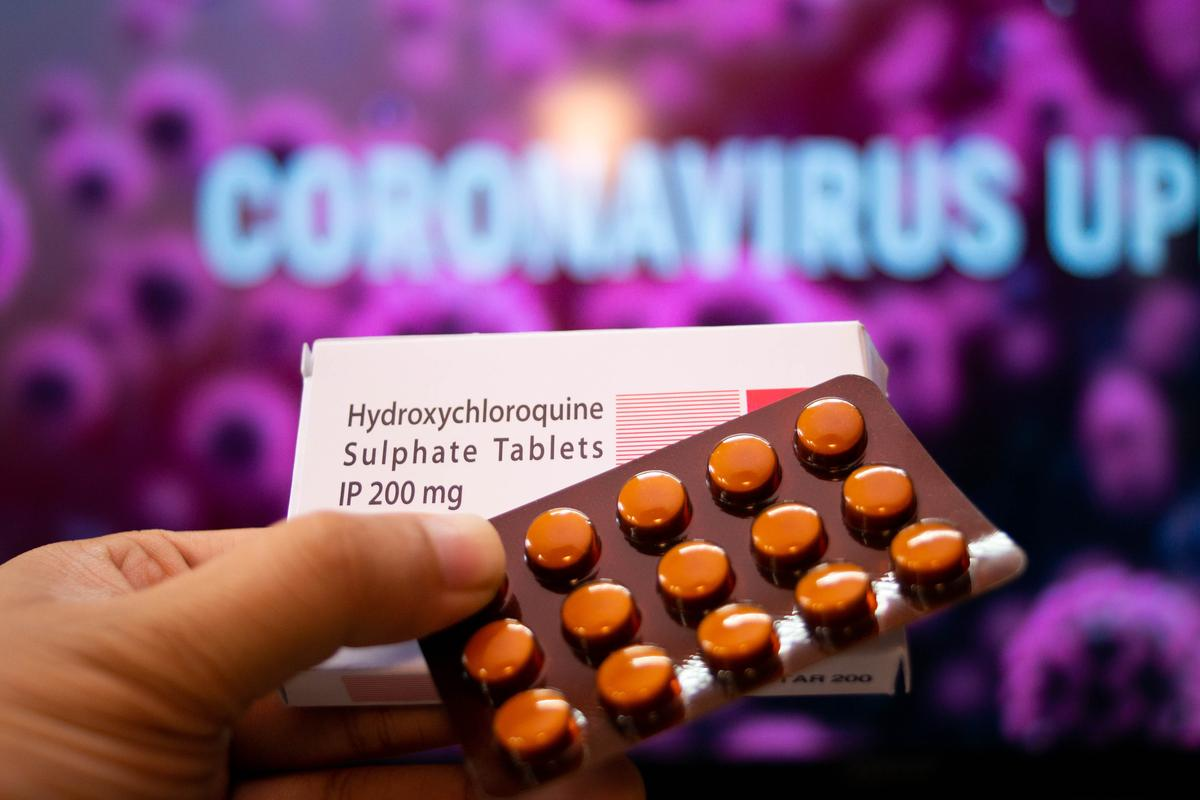 A study examining thousands of patients treated with hydroxychloroquine or chloroquine for COVID-19 found the treatment slightly increased a person's risk of death from the virus