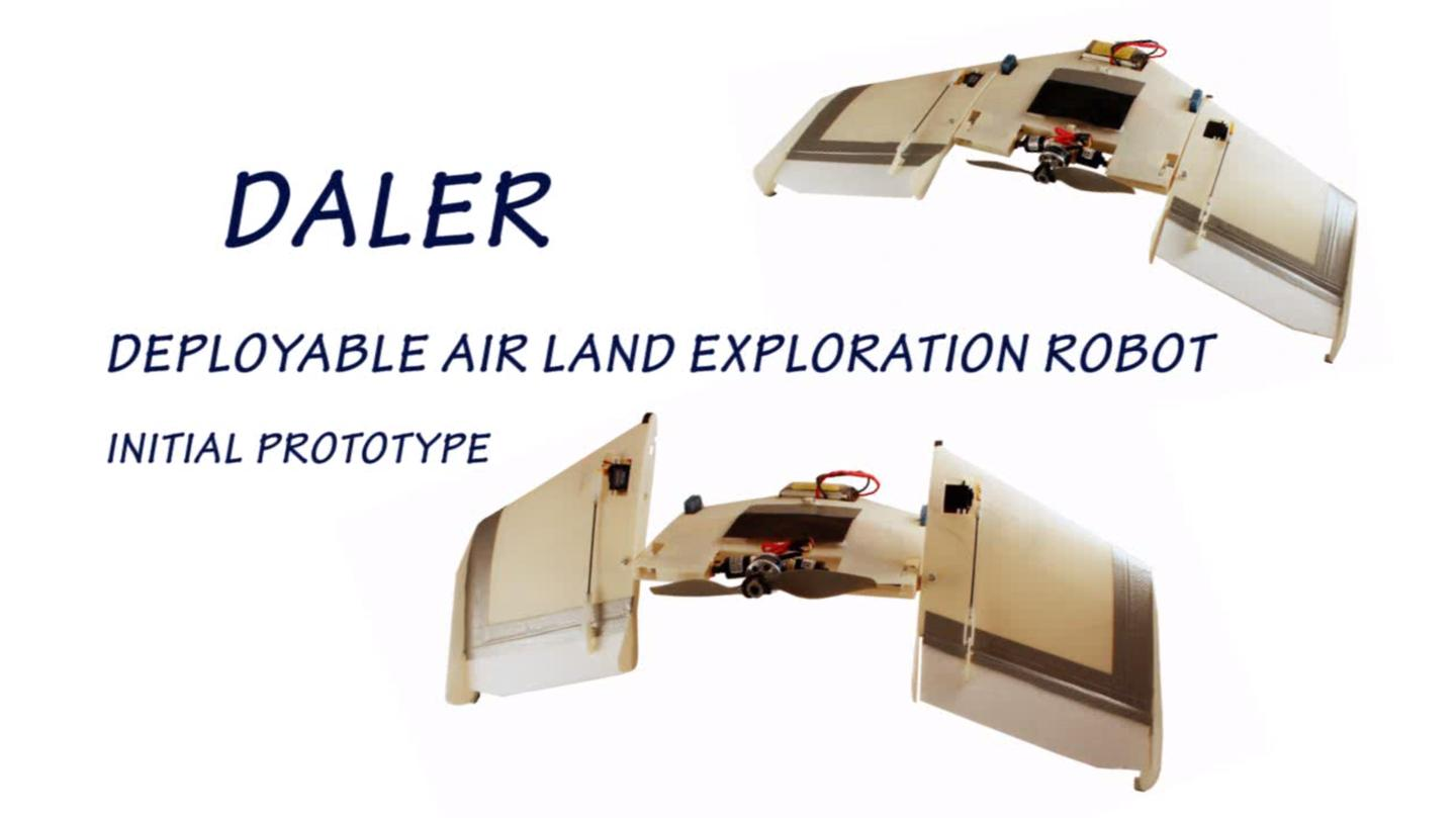 DALER is a backronym for Deployable Air Land Exploration Robot