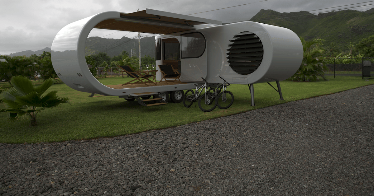 """Romotow's fold-out """"Swiss army campervan"""" nears completion"""