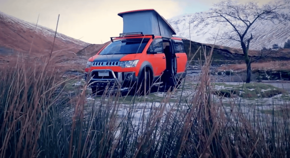 Campervan Co debuted the D:5 Terrain camper van this month