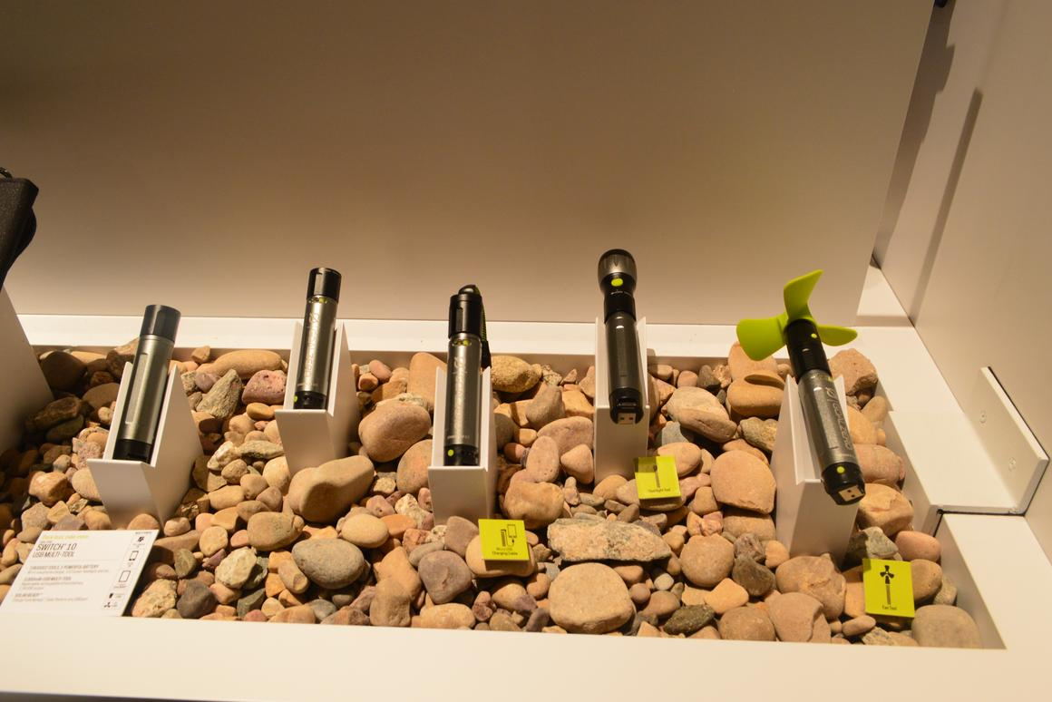 The all-new Goal Zero Switch 10 at Outdoor Retailer 2014