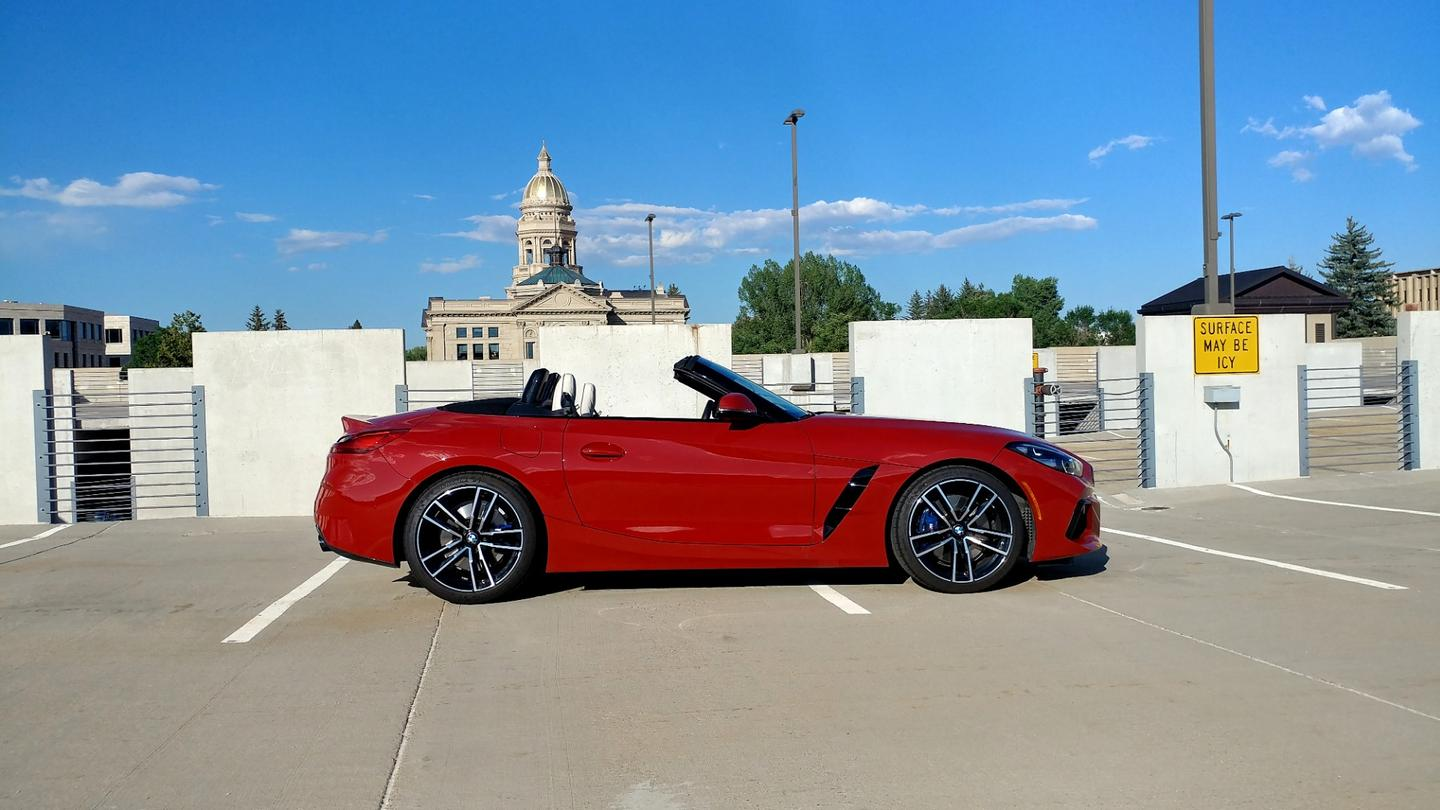 The surprise in the 2019 BMWZ4 isin the daily ergonomics
