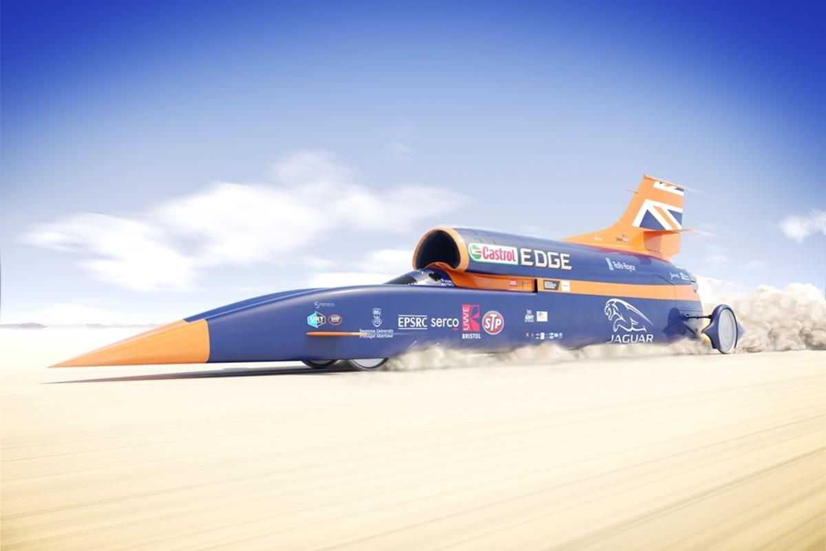 The wheels of the Bloodhound SSC generate 50,000 g's, meaning a lot of technology is required to ensure they are up to the task