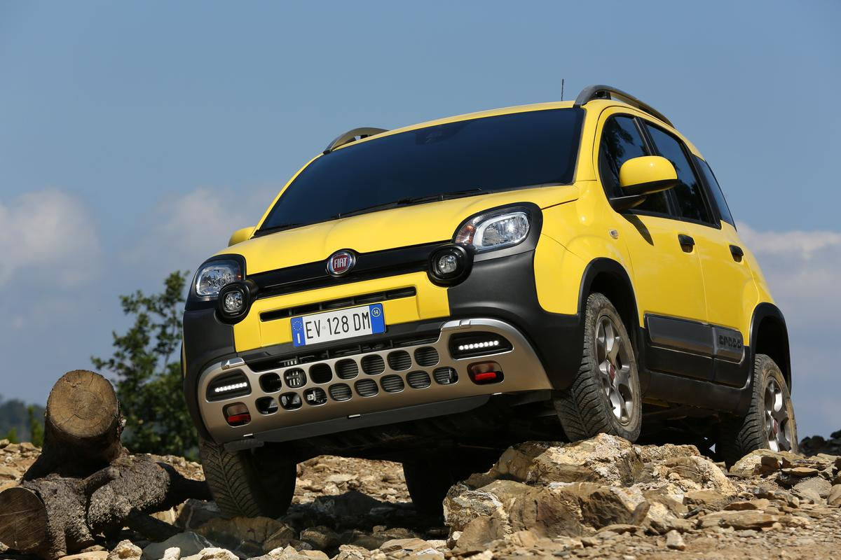 The Fiat Panda Cross has better ground clearance than the Panda 4x4