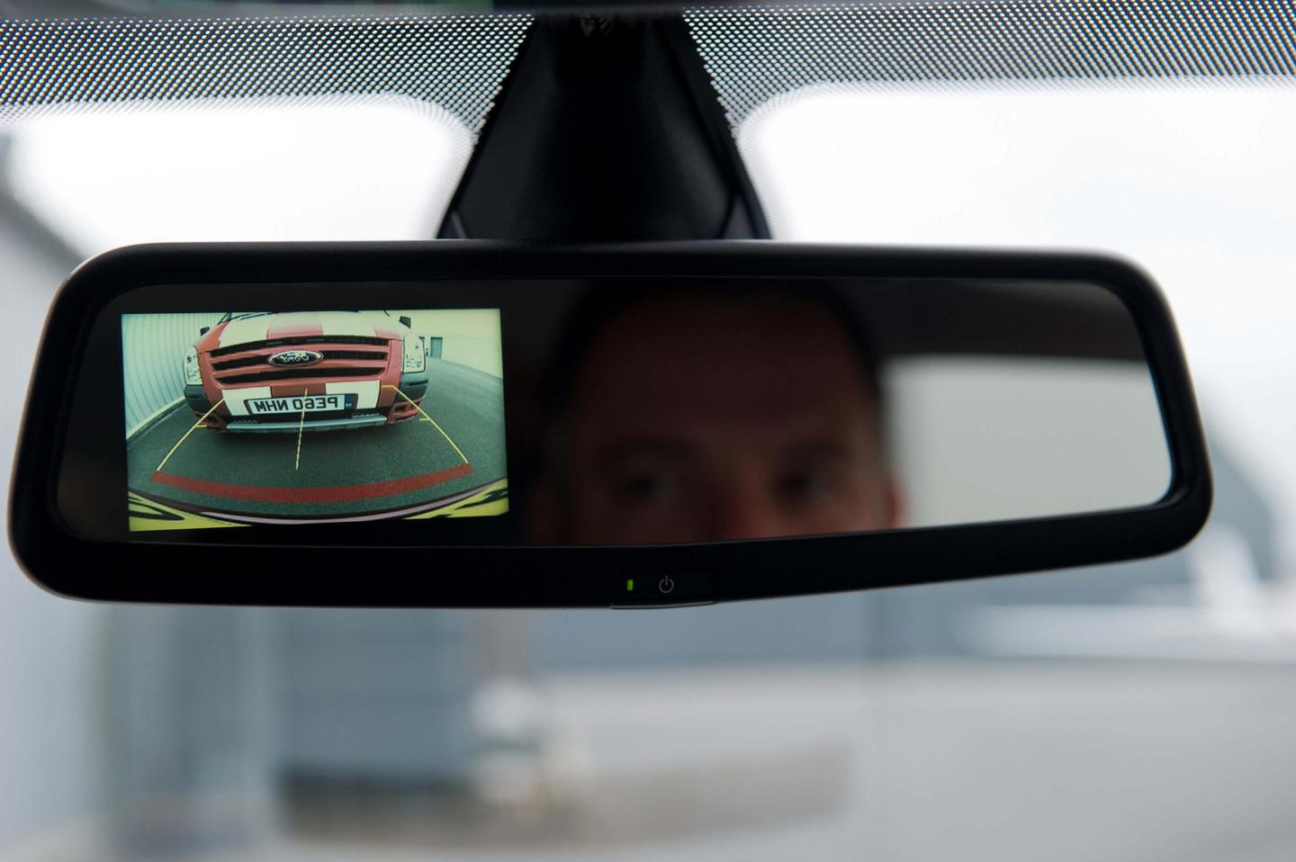 Mirror-mounted rearview camera now an option on Ford Fiesta in the U.K.