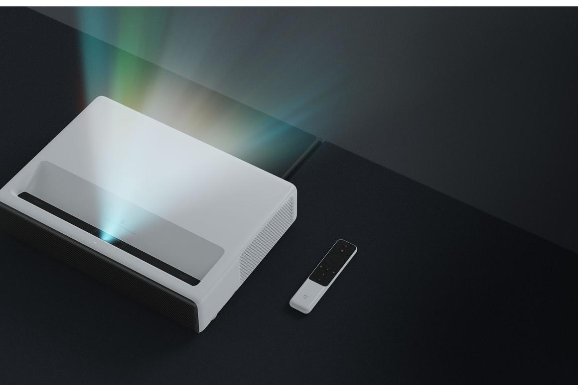 The Xiaomi Mi Projector outputs 5,000 lumens