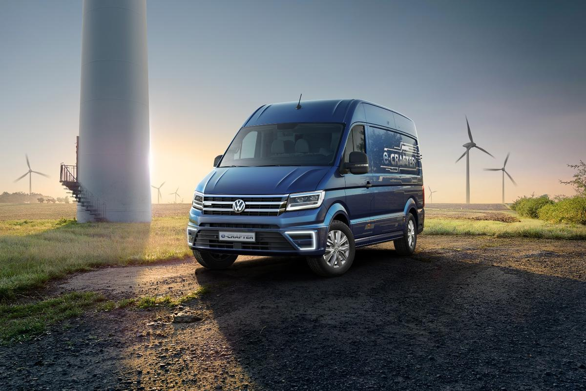 The VW e-Crafter will be production ready in 2017